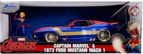 1973 ford mustan g mach 1 captain marvel