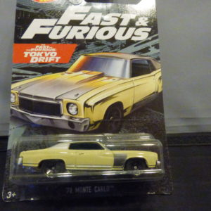 1970 monte carlo/fast & furious