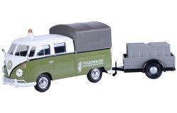 volkswagen t2 pick up + trailer