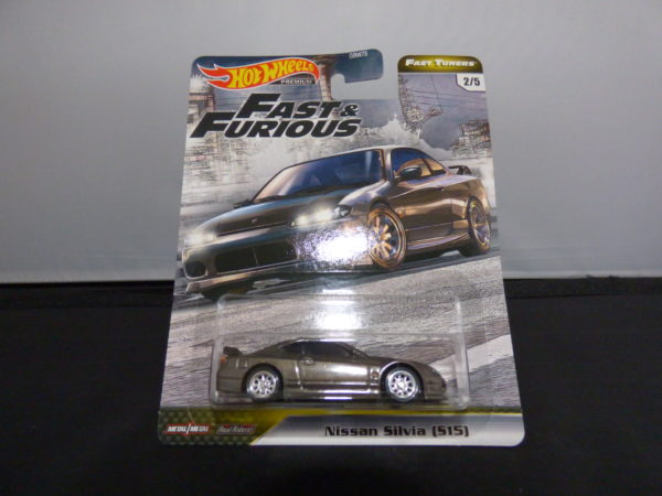 hotwheels nissan 240sx the fast and the furious