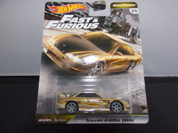 nissan 240sx hotwheels the fast and furious