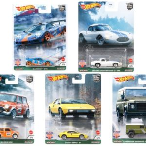 hotwheels british set