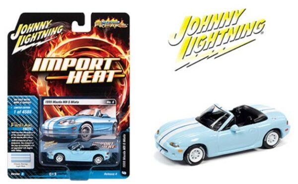 1999 mazda mx5 miata import heat johnny lightning