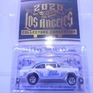 1955 chevy bel air gasser hotwheels conventie 2020
